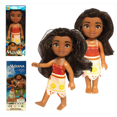 Disney Moana Princess Adventure Collection Action Figure Doll Toy Gifts PVC 16cm