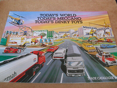 Dinky/meccano Trade Toy Catalogue 1978 Uk Edition Vn Mint For Age