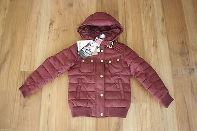 Barbour International Kids Girls Tenby Quilted Jacket NWT Size SMALL 6/7 $319