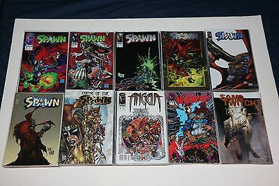 HUGE Lot of SPAWN COMICS + SPIN-OFF SERIES (136 TOTAL COMICS) EARLY ISSUES VF/NM