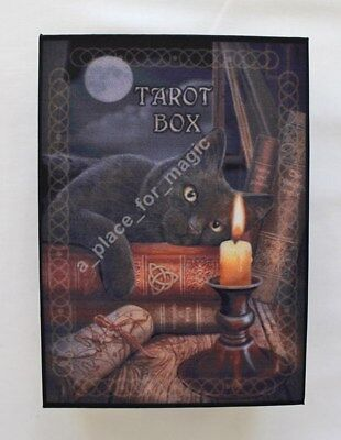 NEW Tarot Box The Witching Hour Black Cat Lisa Parker