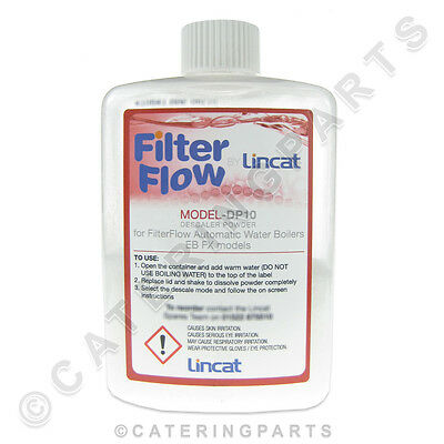 Dp10 Lincat Descaler Limescale Remover Cleaner For Hot Water Boilers & Tea Urns