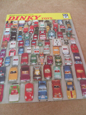 Dinky Toy Catalogue 1970 Uk Edition Excellent Condition For Age