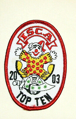 Shrine Clown Association Patch - ISCA 2003 Top Ten