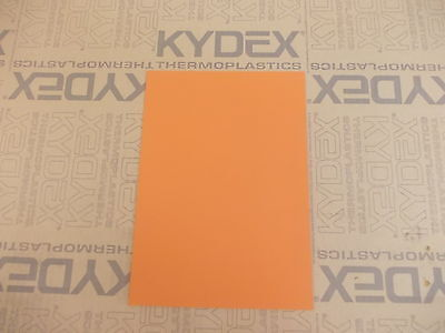Kydex T Sheet 2Mm A2 Size Sheath Holster Material Orange 22253 P3 (Ayers)