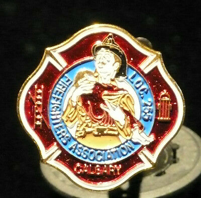 Calgary Fire Fighters Association Pin - Local 255