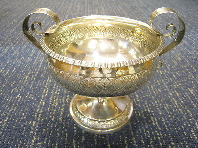 Silver trophy/bowl. Solid Silver. 256.2grms. From UK
