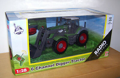 Radio Control 6 Channel Farm Tractor Digger Agrimotor Series