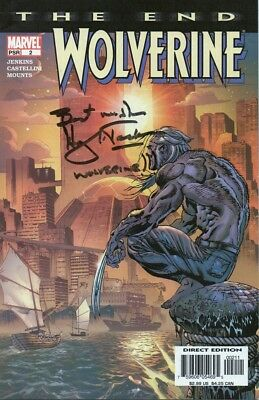 WOLVERINE - 2004 Marvel comic personally signed by HUGH JACKMAN is Wolverine