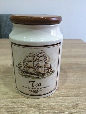 Dunoon Pottery  Gloss Tea Jar