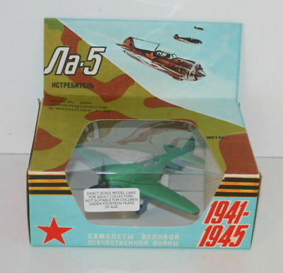 Ussr Russian Fighter Plane Model - Na-5 - Made In Russia