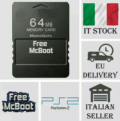 Free McBoot FMCB 1.953 - PS2 SONY PlayStation 2 - 64MB Memory Card