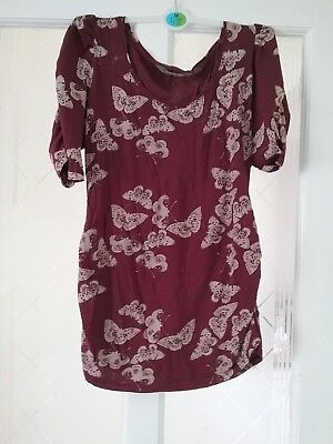 size 10 maternity top