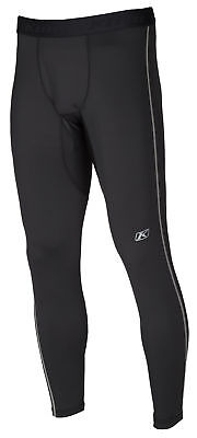 Klim Mens Black Aggressor 1.0 Warming Snowmobile Base Layer Pants Snow Snocross