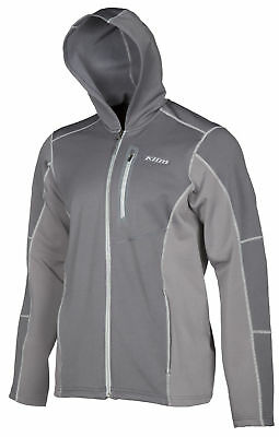 Klim Mens Dark Grey Inferno Snowmobile Mid-Layer Hoody Snow Snocross 2018