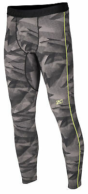 Klim Mens Grey/Black Aggressor 3.0 Warming Snowmobile Base Layer Pants Snow 2018