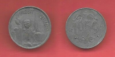 [32]1959 Austria Prosit Neujahr coin chimmney sweepers Good luck coin R