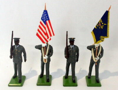 Britains Ltd - American Marching Set - 4 Pieces