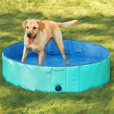 Doggy Pool Hundepool Planschbecken Φ160 x 30H (cm) Grün Gratis DEDHL