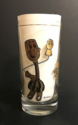 Willie Wiredhand Drinking Glass - N.r.e.c.a. - Black/gold Graphics
