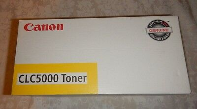 Genuine Canon CLC 5000 Yellow Toner