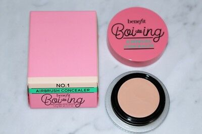Benefit Boi-Ing Airbrush Concealer Bnib 100% Genuine 5G Shade No.1 Fair/light