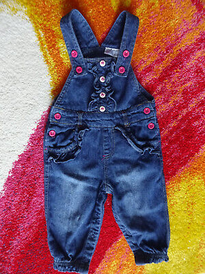 68, Baby, Mädchen, Anzug, Hose, Jumpsuit, Overall, Latzhose, Jeans