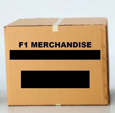 MERCHANDISE BOX Formula One 28 Mixed Items Wholesale Clearance 1 Job Lot F1 NEW!