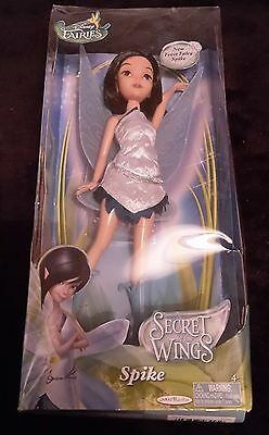 Rare Disney Fairies Secret of The Wings Fashion Doll Spike Fairy 10 Jakks Pacifi