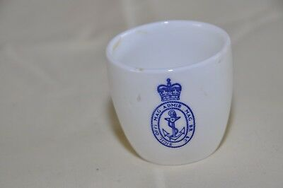 Vintage Royal Naval Insignia Aynsley China Egg Cup, 1964