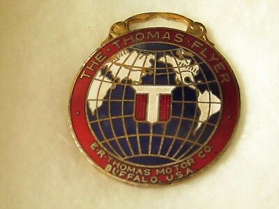 The Thomas Flyer Automobile Watch Fob E.R. Thomas Motor Co. Buffalo U.S.A