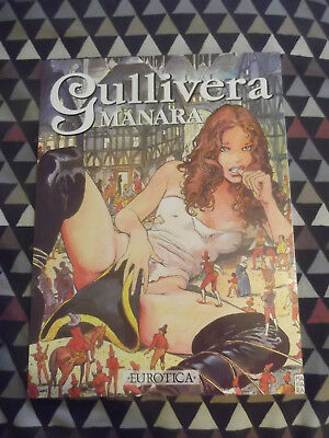'Gullivera' Milo Mana. Eurotica. Paperback. Erotic. Adults only. Very good.