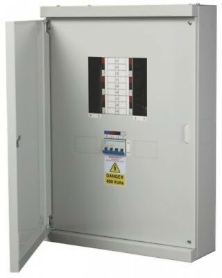 Chint 6-Way 125A TP and N Meter Ready Distribution Board