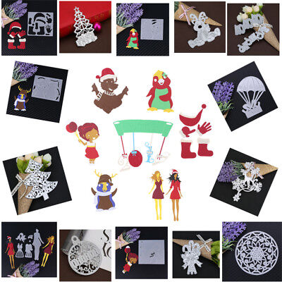 Christmas Series Cutting Dies Stencil for DIY Scrapbooking Embossing Card Craft