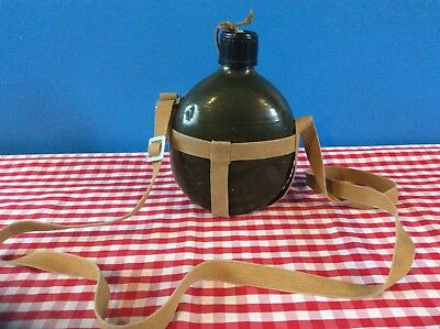 Vintage Army Military Water Canteen