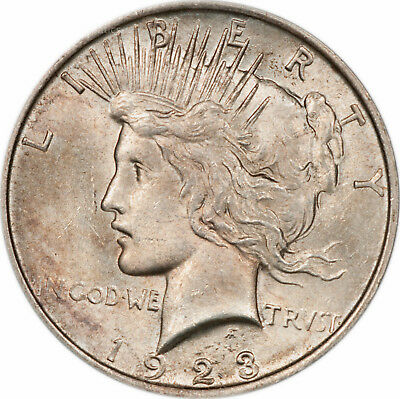 1923 Peace Silver Dollar - BU - Choice Brilliant Uncirculated (7360.q8406)