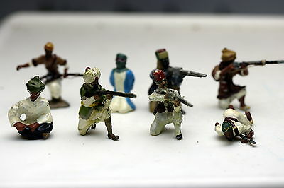 Lot of Arab Kneeling Toy Soldiers unknown maker Nostalgia?