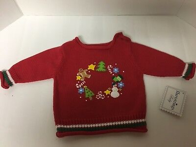 Heartstrings Newborn 0-3 Months Christmas Sweater Baby
