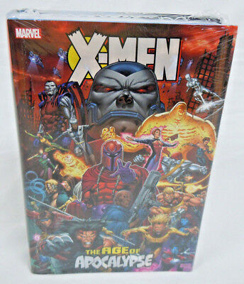X-Men Age of Apocalypse Omnibus Magneto Bishop Marvel Comics HC New Sealed $125