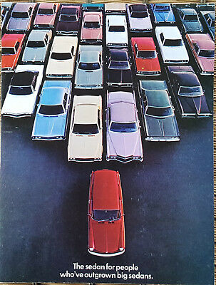 1971 Original Volkswagen Squareback Dealer Sales Brochure  Excellent