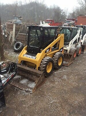 skid steer loader fully Enclosed Cab