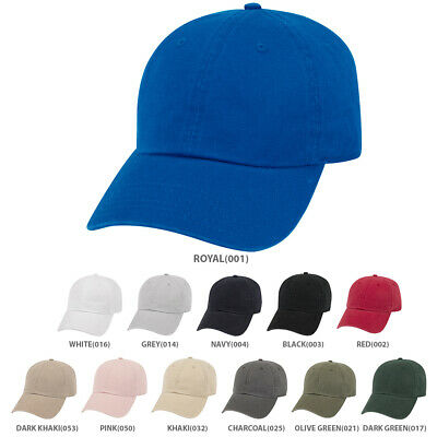 Low Profile Washed Superior Brushed Cotton Twill Dat Hat Cap - Free Shipping