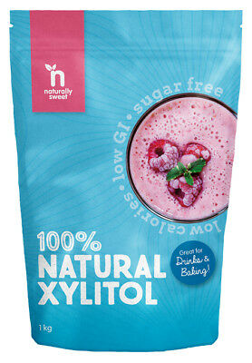Naturally Sweet Xylitol 1000g Pouch - Pharmaceutical Grade, Non-GMO, Great Taste