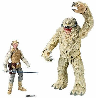 STAR WARS Episode 5 BLACK Series LUKE SKYWALKER & WAMPA ActionFigure TAKARA TOMY