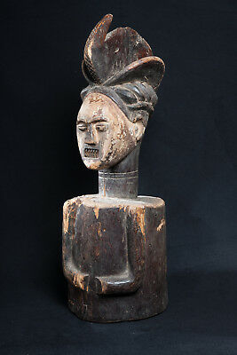 Ambete Figure, Democratic Republic of Congo, African Tribal Sculpture