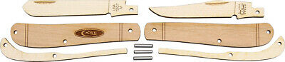 Case Cutlery Wooden Mini Trapper Folding Pocket Knife Project Kit Made USA 207W