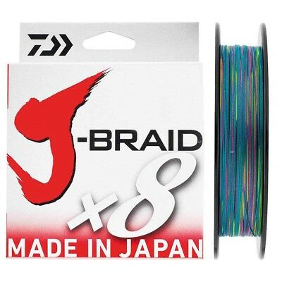 Daiwa Jbraid 8 Braid 500 Trenzados
