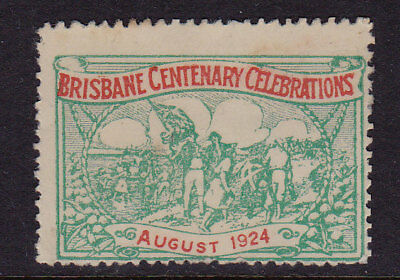 Cinderella 1924  Queensland  Brisbane Centenary