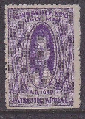 Cinderella Queensland 1940 Ugly Man  patriotic appeal
