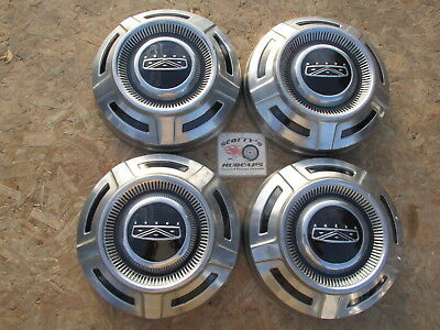 1968-74 Ford 3/4 Ton Pickup Truck, Van ~Poverty Dog Dish Hubcaps, Set Of 4 ~Nice